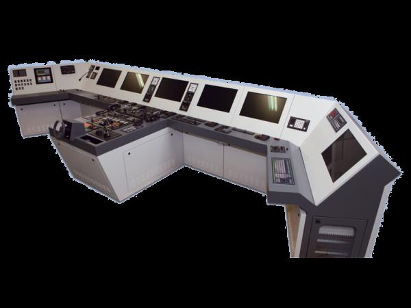 Brückenausrüstung für Forschungsschiff