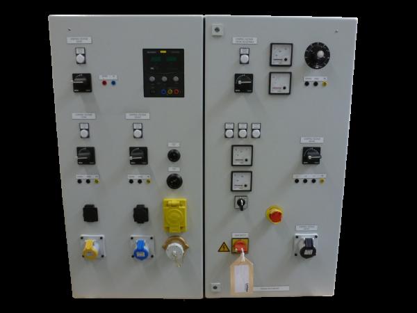 Prüfschalttafel 440V, 60Hz für ein Schiff (Ausführung in Sonderanfertigung nach Kundenwunsch)